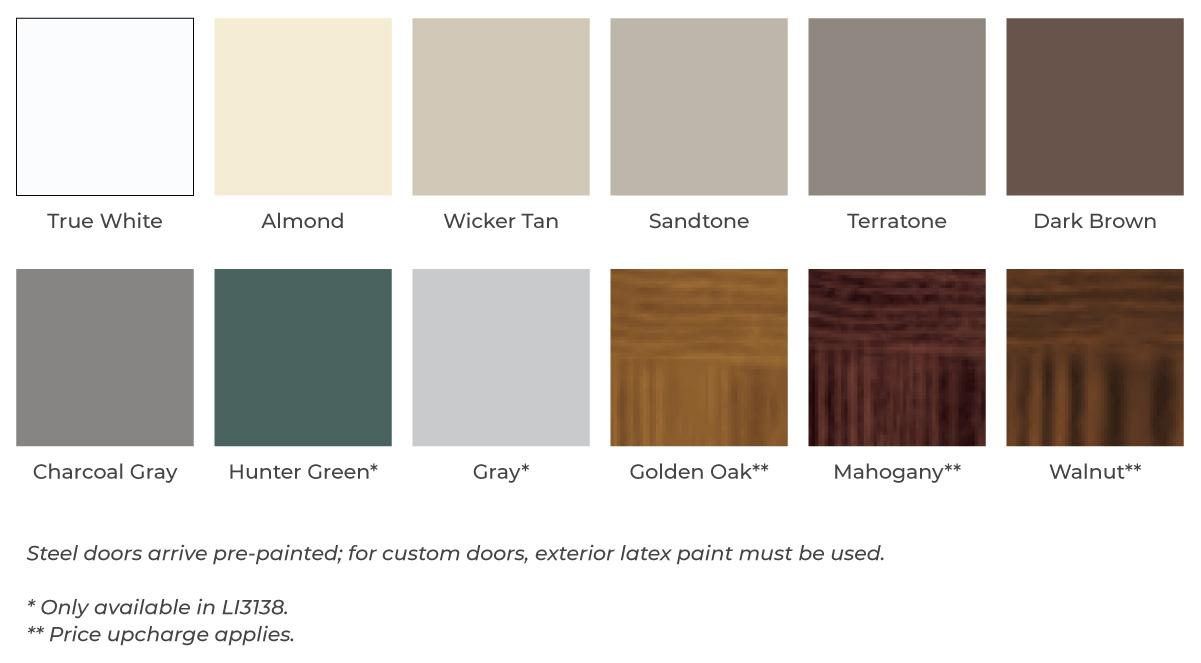 Garage Doors Cleveland Ohio | Garage Door Company | Window ... on Garage Door Colors  id=84617
